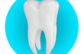 An illustration of a healthy, intact tooth unaffected by a cavity