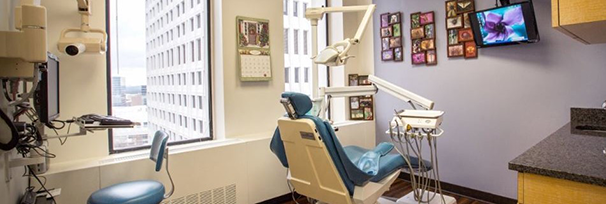 Feather Touch Dental Care exam room
