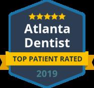 Top patient rated badge